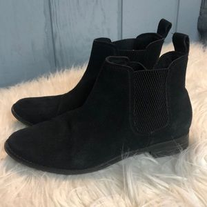 Toms Ankle booties black size 8